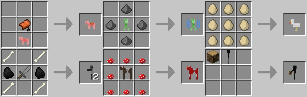 Мод CraftableAnimals для Minecraft 1.5.2 скачать бесплатно