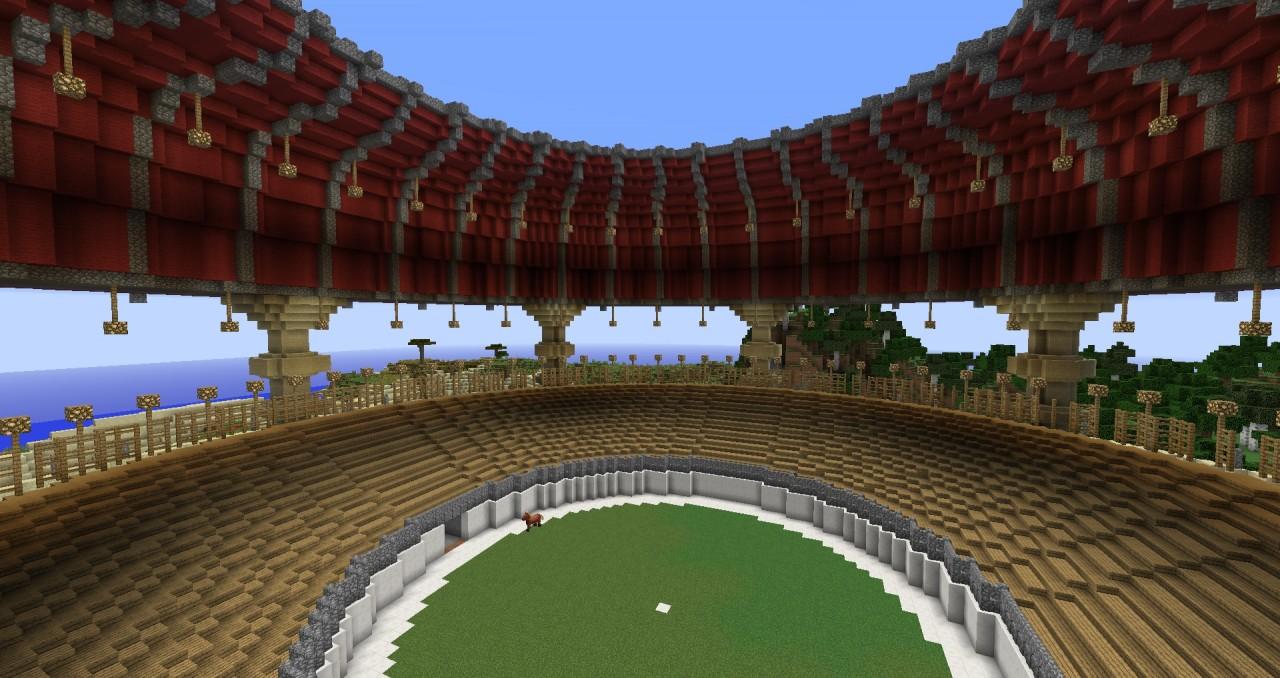 карта арена для minecraft #10
